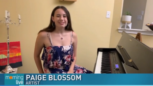 paige at a piano
